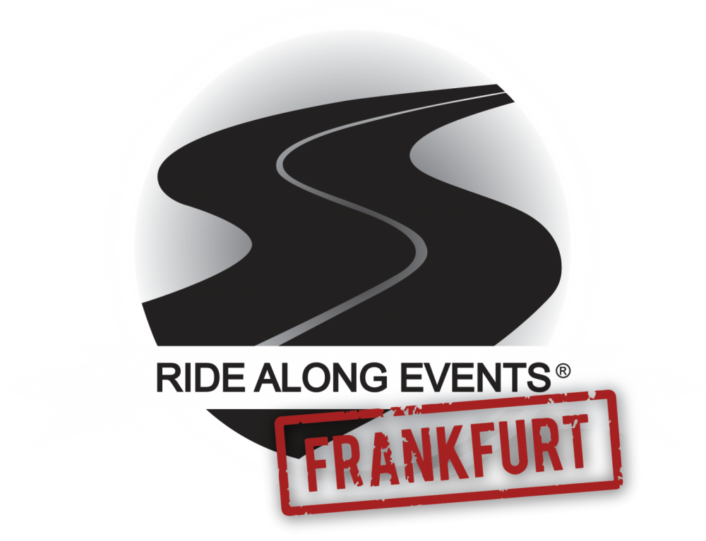 logo ride along events registered cars and coffee frankfurt germany